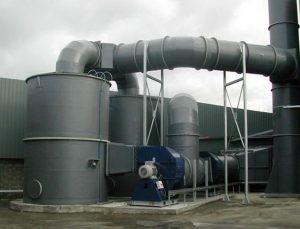 ระบบบำบัดกลิ่น ลดมลพิษทางอากาศ